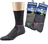 socksPur SOCKS PUR FUNKTION TREKKING SOCKEN MERINOWOLLE (39/42, DUNKELTAUPE)
