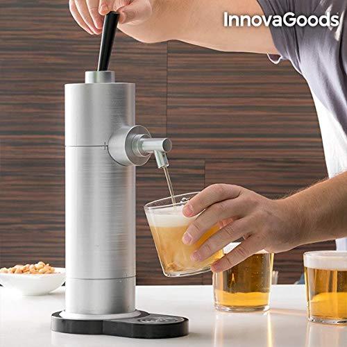 InnovaGoods Beer Tap, Gray, 18.5x12x41 cm
