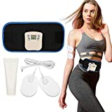 Cinturón de vientre, cinturón vibratorio Cinturón de adelgazamiento Cinturón eléctrico Movimiento de quema de grasa Cinturón delgado para hombres y mujeres