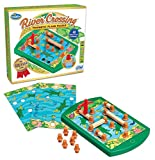Thinkfun 76349 River Crossing-Magnetic Plank Puzzle,