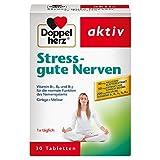 Doppelherz Stress - gute Nerven – Nahrungsergänzungsmittel mit den Vitaminen B1, B2, B6 und B12...