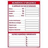Adhésif - Affichage Numéros d'Ur...