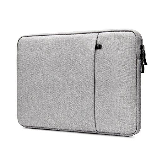 "NIDOO 14\"" Wasserdicht Klassisch Laptop Sleeve Case Notebook Hülle Schutzhülle Tasche für 14\"" Lenovo ThinkPad E475 E480 T480s / Dell New Latitude 3490 5490 7490, Grau"