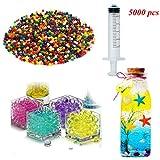 5000pcs (10 colores) Perlas de agua...