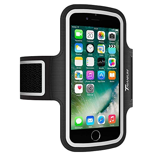 Trianium Armband For iPhone X 8 7 6 6S Plus, LG G6, Galaxy s9 + s8 s7 s6  Edge, Note 8 5 (Fit Otterbox Defender/Lifeproof case) [Water Resistant]