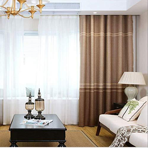 Moderno minimalista fiocco di neve rainbow canapa tenda tessuto soggiorno camera da letto alta tenda oscurante width66 x drop90 (168 * 229cm) un
