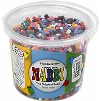 Nabbi perline di fusione in secchio, plastic-p, plastica, Basic Colours, 5000-Piece