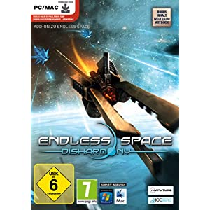 Endless Space Disharmony (DLC) [PC Steam Code]
