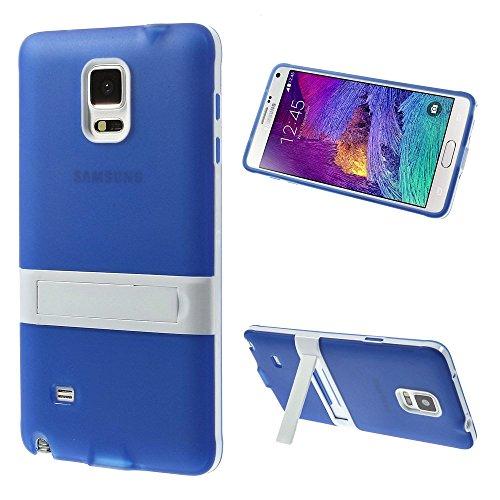 samsung-galaxy-note-4-silikon-tpu-schutzhulle-handy-jacke-blau-mit-weisser-bumper-mit-standfunktion-