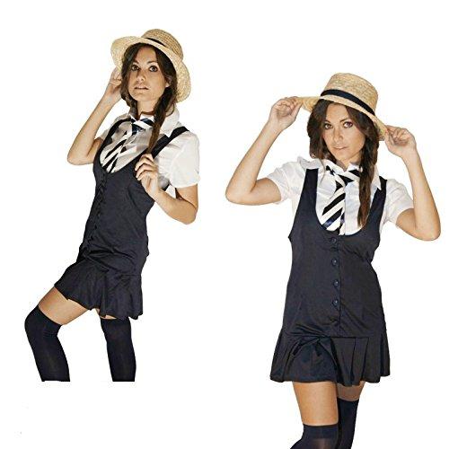 Sexy School Girl Abendkleid Größe Klein (Frauen: 8-10)