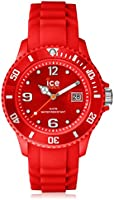 Ice-Watch - ICE forever Red - Montre rouge mixte avec bracelet en silicone - 000139 (Medium)