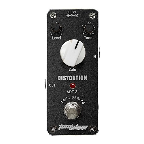 TOMSLINE DISTORSION MINI GUITARRA PEDAL DE EFECTOS