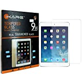 iPad Air Tempered Glass, iKare 2.5D 9H Tempered Screen Protector for Apple iPad Air