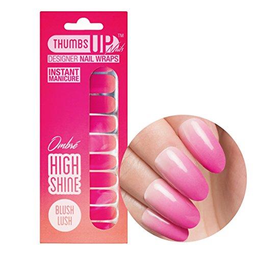 Blush Lush à ongles Wraps de ThumbsUp ongles