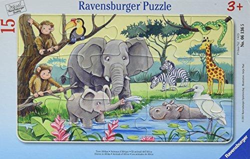 25 Ravensburger Puzzle (Ravensburger Puzzle 06136 -