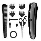 BROADCARE Herren Haarschneider Set Profi Elektrischer Haarschneidemaschine Bartschneider Haarscherer Haartrimmer Hair Clipper für Baby Kinder Erwachsenen USB Aufladen