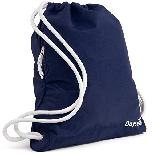 odyseaco-deluxe-drawstring-gym-bag-waterproof-swimming-rucksack-with-large-zip-pocket-best-for-schoo