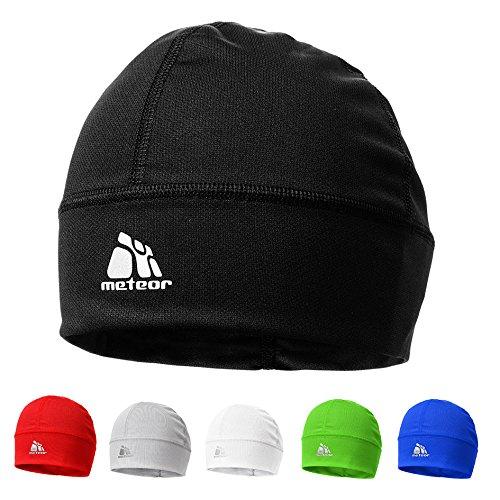 meteor  Ghost Mütze der mit Silberionen eingeträufelt - Unisex Winddicht Skull Cap ideal als Kopfbedeckung für's Laufen, Skifahren, Snowbording, Joggen, oder als...
