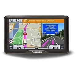 Garmin Camper 760LMT-D Navigatore Europa 7″ con Aggiornamento Mappe a Vita, Database e Software Camper, Infotraffico Digitale, Nero