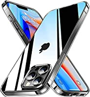 YoYoTech Case Compatible for iPhone 13 Mini 5.8 Inch Clear Case with Shock Absorption Anti Scratch TPU Cover D