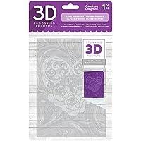 Crafter 's Companion 3D-Prägung folder-love Blüten, 12,7x 17,8cm