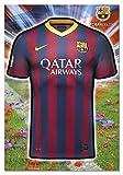 Puzzles Educa - F.C. Barcelona puzzle, forma de camiseta (15759)