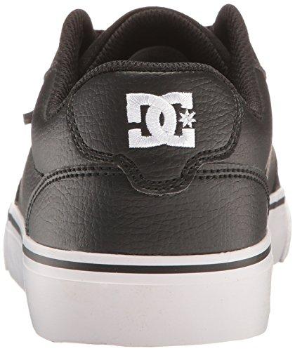 DC Shoes Anvil D0303190, Sneaker Uomo Black/Black/White