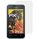 atFolix Schutzfolie für Huawei Ascend Y330 Displayschutzfolie - 3 x FX-Antireflex blendfreie Folie