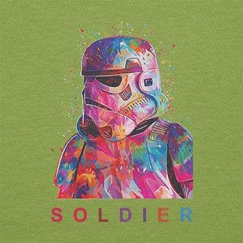 Texlab–Soldier–sacchetto di stoffa Verde chiaro