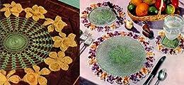 Blüten und Früchte Gehäkeltes Deckchen Teil zwei