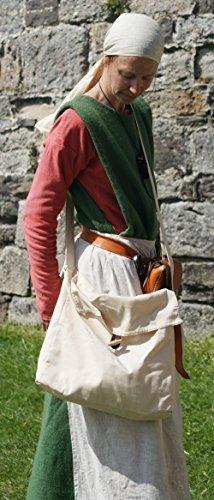 Mittelalter Larp SCA nachspielen Nachstellung Larp Tudor Bogenschütze Heide schwer BAUMWOLLE KIT-WASSER TRÄGER-BOTE (Cl Kostüm)