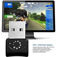 Onlydroid ANT+ Dongle USB Stick for Garmin Zwift Sunnto PerfPRO Studio TrainerRoad CycleOps Virtual Trainer