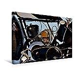 Premium Textil-Leinwand 45 x 30 cm Quer-Format Zündapp Z 300 | Wandbild, HD-Bild auf Keilrahmen, Fertigbild auf hochwertigem Vlies, Leinwanddruck von Ingo Laue (CALVENDO Mobilitaet)