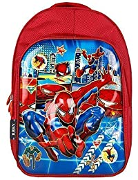 3af5fa6b3ae RBRN Spiderman, Lightweight School Bag with 3D Effect Suitable for 5-8 Years