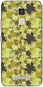 The Racoon Yellow Fal Grip printed designer hard back cover for Asus Zenfone 3 Max (ZC520TL)