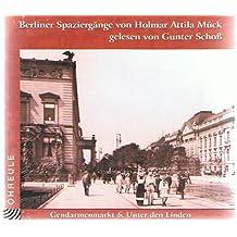 Berliner Spaziergänge. Gendarmenmarkt. & Unter den Linden. CD (Ohreule)