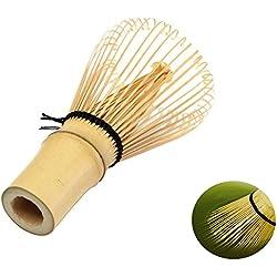 1X Toruiwa Matcha Besen Matcha Schneebesen Bambus Chasen Matcha Pulver Quirl Werkzeug Japanische Teezeremonie Zubehör 80 Borsten
