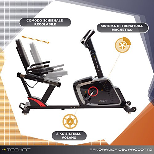 Zoom IMG-1 techfit r470 cyclette orizzontale recumbent