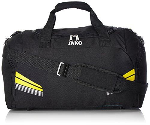 JAKO Sporttasche Pro Schwarz/Citro/Weiß