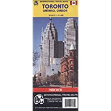 Toronto World City Map (Travel Reference Map)