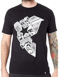 Famous Stars & Straps Black Stereo Stacks T-Shirt