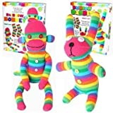 Craft Cupboard Make Your Own Rainbow Sock Monkey - Best Reviews Guide