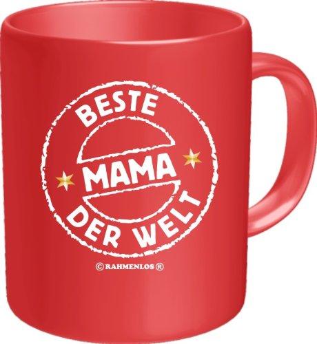 Becher Kaffeetasse beste Mama der Welt Geschenk Geburtstag Muttertag