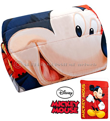 Arrediamoinsieme-nelweb trapunta piumone matrimoniale mickey mouse topolino letto 2 piazze 240x250cm invernale bimbo disney