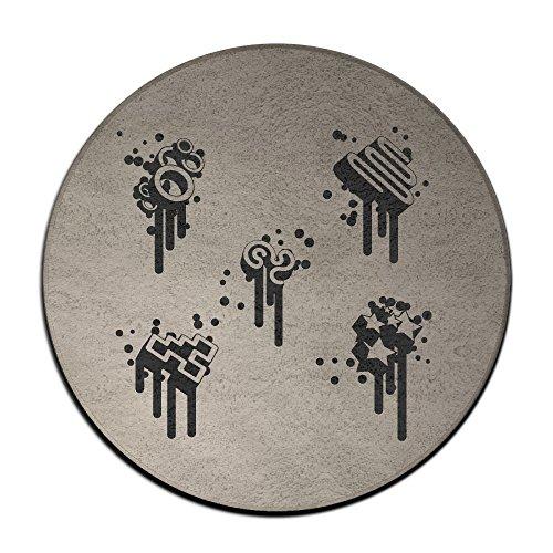 Elements Musik Note Schwarz Symbol Spot Einzigartige Teppichreiniger Lösung Pet ()