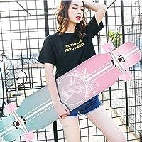 """Tablas de Skate, Tablas para Principiantes Cepillo Street Board 42""""x 10"""" Longboard Skateboard Complete Cruiser, Cubierta de Arce de 8 Capas para Adultos, Adolescentes y niños Skateboards estándar"""