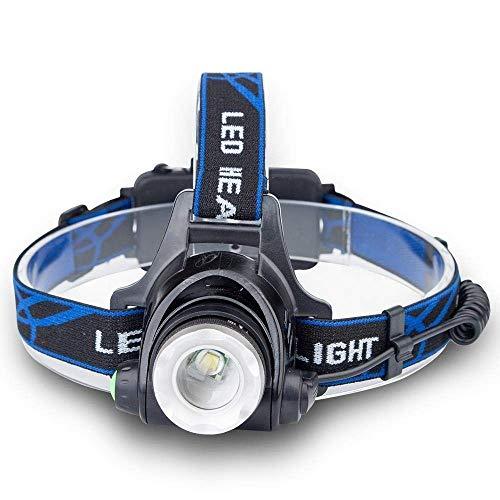Qilo Linterna Frontal LED, Modos de luz for Acampar, Montar a Caballo, Correr, pasear al Perro, Pescar, Leer, Reparar automóviles, etc