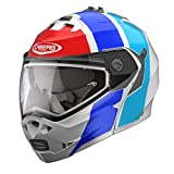 Caberg Duke II Impact Flip Up Motorcycle Helmet Blue/Red/White X/Small