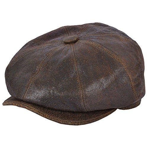 nueva-gladwin-bond-piel-de-oveja-8-panel-cap-marron-marron-59-cm