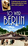 So war Berlin [VHS]